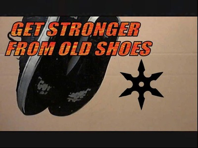 DIY Awesome Training Tool From Your Old Shoes