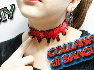DIY - Collana di Sangue per Halloween |DIY Blood Drip Necklace | HALLOWEEN DIY TUTORIAL!