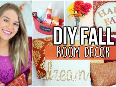 DIY Fall Room Decor! Make your Room Cozy!