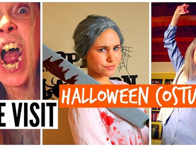 DIY HALLOWEEN COSTUME 2015: THE VISIT Scary Grandma 2015