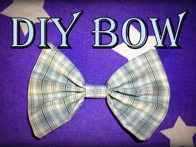 DIY: How to make an easy fabric Bow