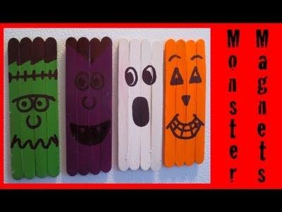 DIY: Monster Magnets ♡ Theeasydiy #HalloweenHorror