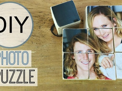 DIY Photo Transfer on Wood Puzzle | Michele Baratta