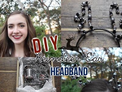 DIY Reindeer Ear Headbands!