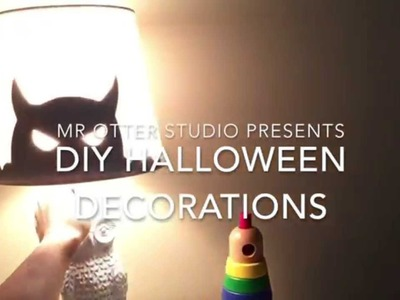 DIY SIMPLE Halloween Decorations