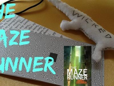 DIY The Maze Runner bookmarks and lizard