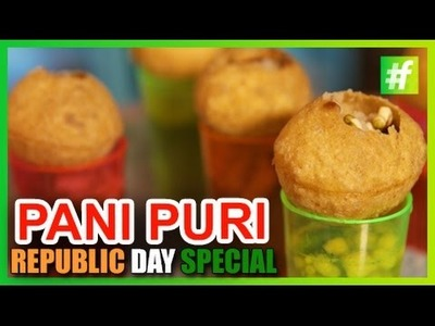 #fame food -​​ How to Make Vodka Pani Puri | Republic Day Special | by Amrita Rana