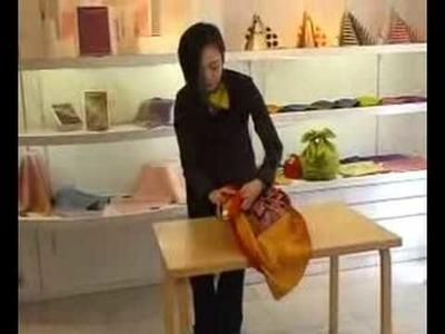 Furoshiki Wrapping Shoulder Bag