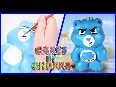 Grumpy Bear CAKE - Care Bears (How To) | Feat: Alonzo Lerone
