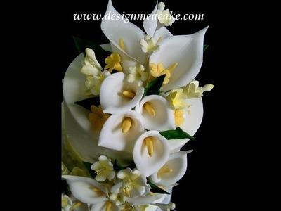 Gumpaste Calla Lily Part I Tutorial