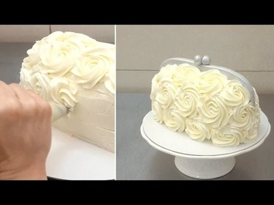 Handbag Buttercream Cake -  How To by CakesStebyStep