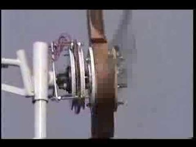 Home Wind Turbine - second video
