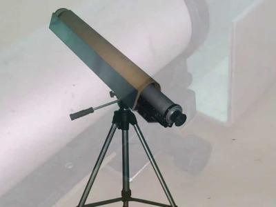 Homemade Refractor Telescope With Focuser DIY Binocular Monocular Spost Scope Refractor