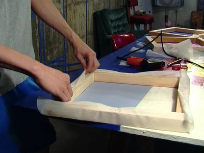 How To Build A Silk Screen