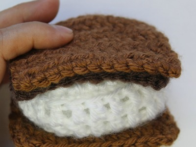 How to Crochet s'mores