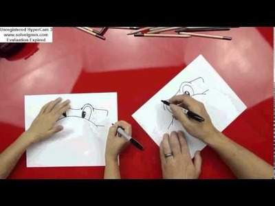 How to Draw A Teenage Mutant Ninja Turtle Face (Art For Kids Hub)