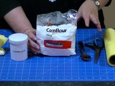 How to Make a Cornflour Dusting Bag