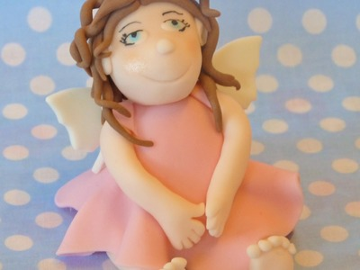 How to make a fairy cake topper by Mrs Baker's Cake School