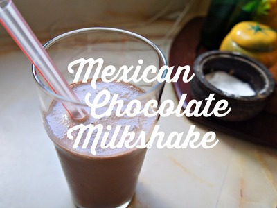 How to Make a Mexican Chocolate Milkshake