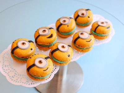 How To Make Despicable Me Inspired Minion Macarons