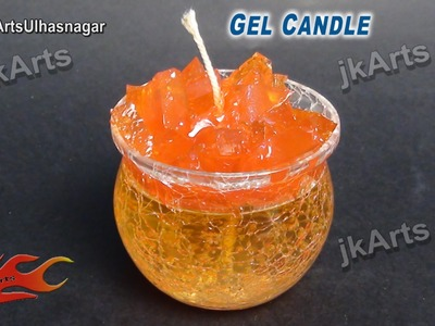 HOW TO: make Gel Candle  - JK Arts 496