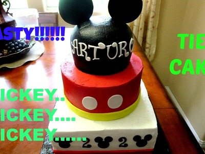 How to make Mickey Cake Ball Cake