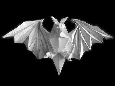 How to make: Origami Bat (Miyajima Noboru)