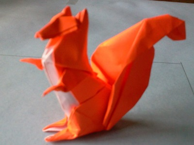 How to make Origami squirrel (michael g. lafosse)