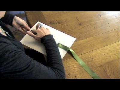 How to make the Verona Gatefold Wedding Invitation