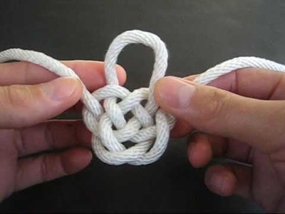 How to Tie the Djinn Bottle Knot by TIAT