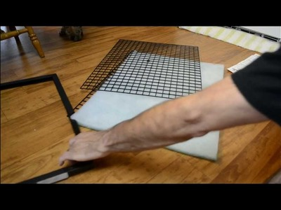 HVAC Build a Sizable Reusable Washable Air Filter. Can't find a filter that fits? This is it!