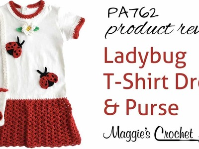 Ladybug T-Shirt Dress and Purse Product Review PA762