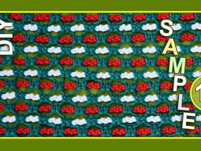 Macrame ABC - pattern sample #16