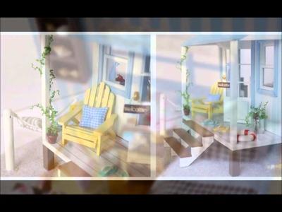 Miniature DIY Dollhouse Vila