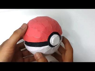 [Papercraft] How to make a paper pokeball