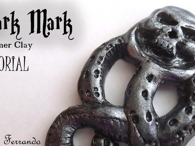 "Polymer Clay ""The Dark Mark"" From Harry Potter Tutorial | Maive Ferrando"