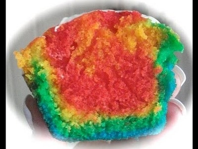 Rainbow Cupcakes for my Mook-Mook