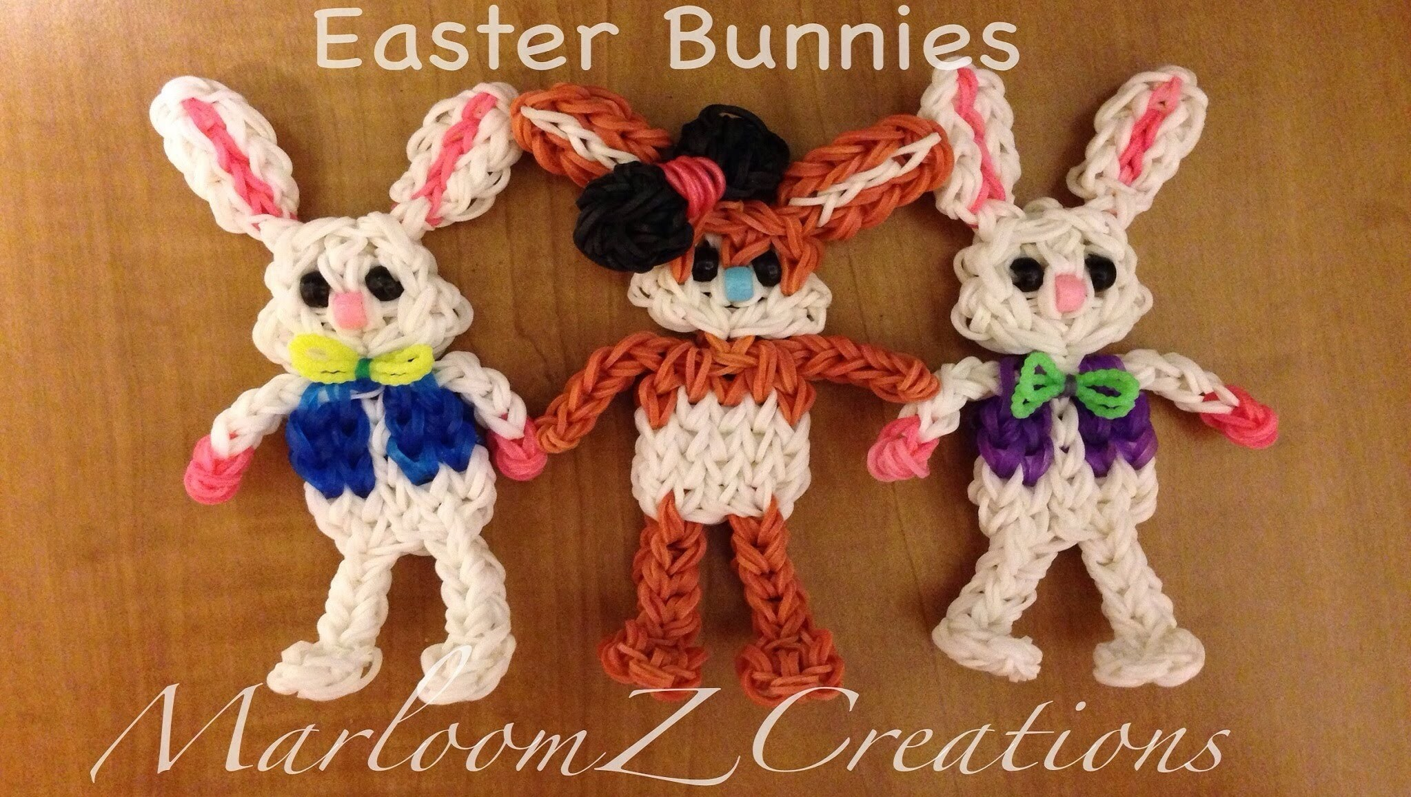 Rainbow Loom: Easter Bunny