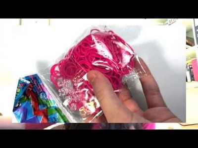 RAINBOW LOOM HAUL!