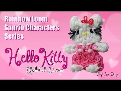 Rainbow Loom Sanrio Characters Series: Hello Kitty UPDATED (Single Loom)