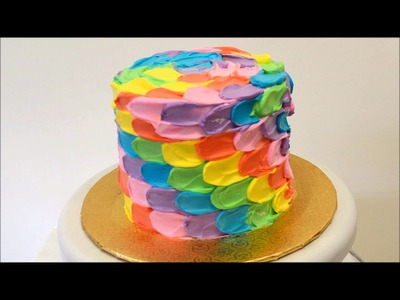 Rainbow Themed Cake Presentation | Rainbow Cake