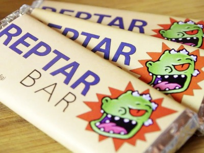 Reptar Bars from Rugrats, Feast of Fiction S4 Ep17