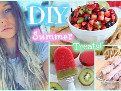 Summer DIY Treats. Healthy Living
