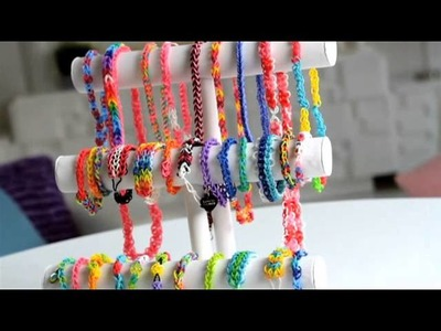The Cra-Z-Art Cra-Z-Loom lets you make rubber band jewelry and more!