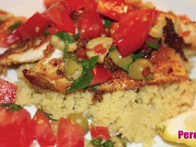 Tilapia Topped With Salsa! How To Make!