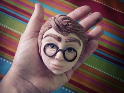 Tutorial cake topper harry potter how make sugar paste pasta zucchero torta
