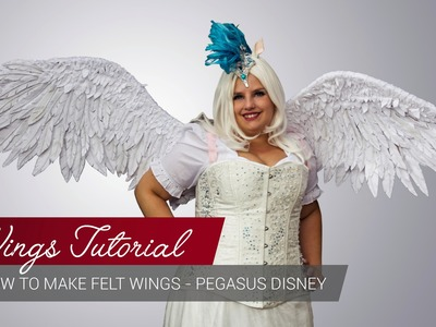Wings Tutorial - How to make Felt Wings (Part1) [ENG.GER]