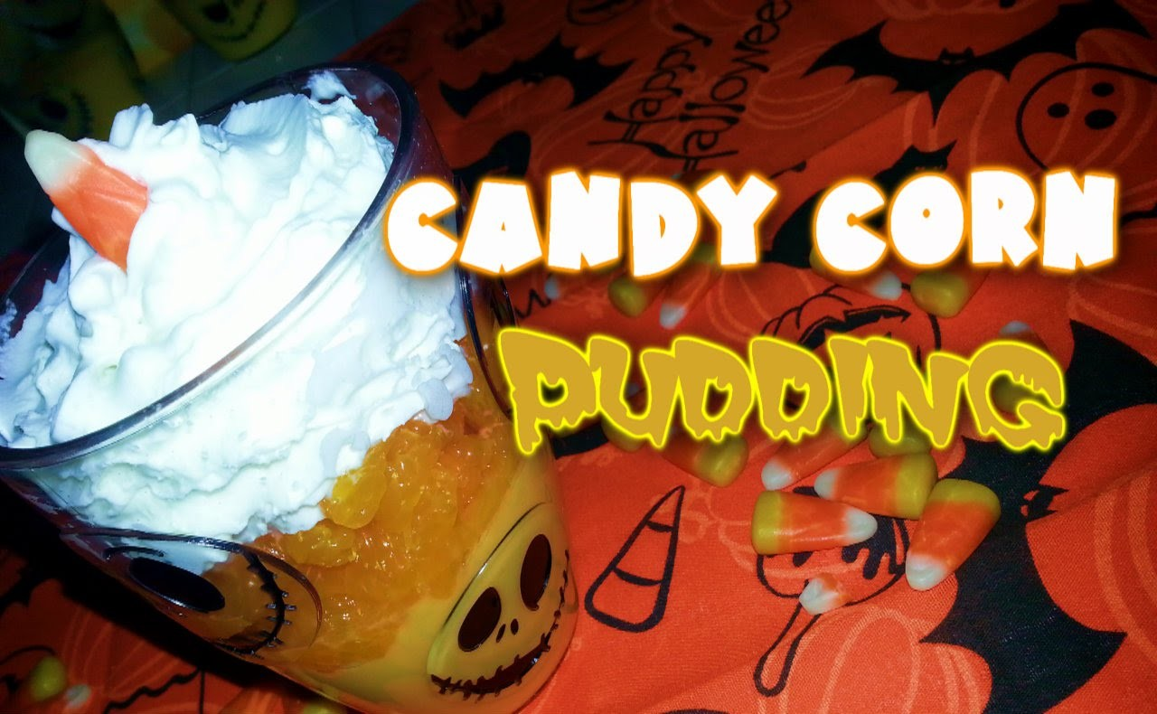 D.i.Y Healthy Candy Corn Pudding