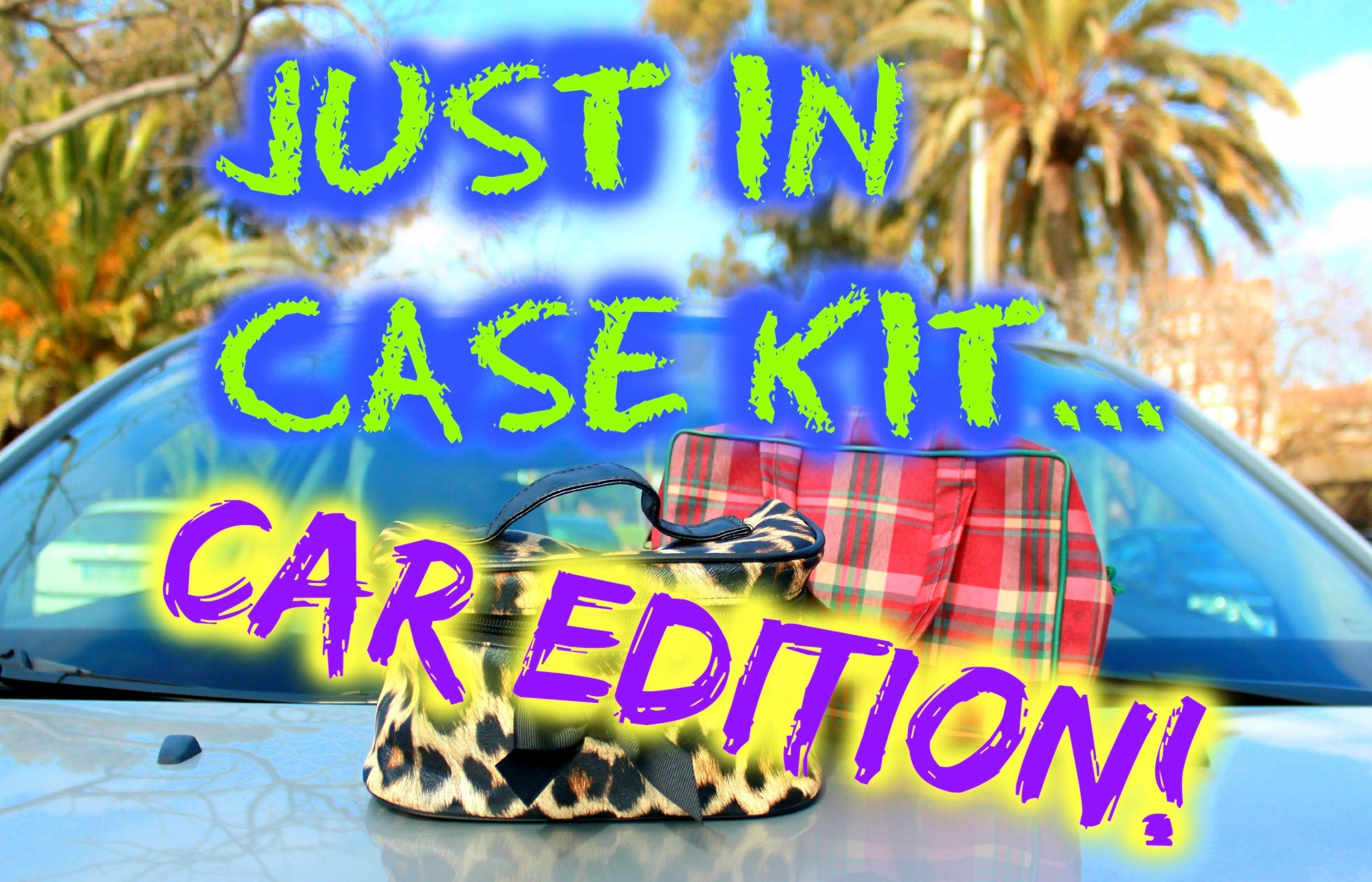 "DIY CAR KIT : Just in Case Car KIT ! ♥ ♥  ""Must have"" Emergency Kit for your Car!"