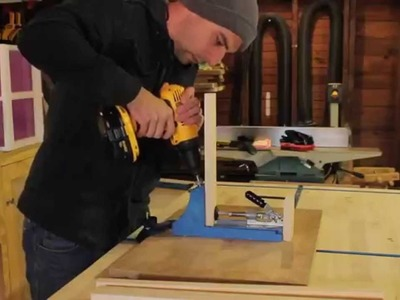 DIY End Table for Kids by Hosey's Workshop (Featuring Kreg Pocket Hole Jig)